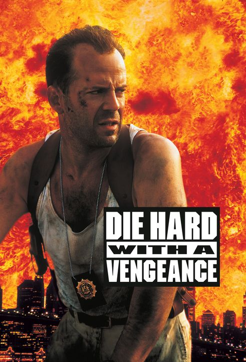 Die Hard 3 - Artwork - Bildquelle: Buena Vista Home Entertainment © 1995 Cinergi Pictures Entertainment Inc. Cinergi Productions N.V. Inc. and Twentieth Century Fox Film Corporation