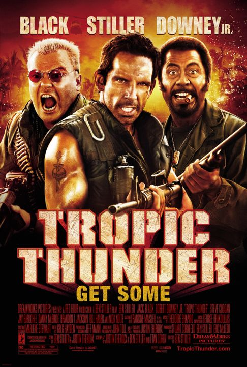 TROPIC THUNDER - Plakatmotiv - Bildquelle: 2008 DreamWorks LLC. All Rights Reserved.