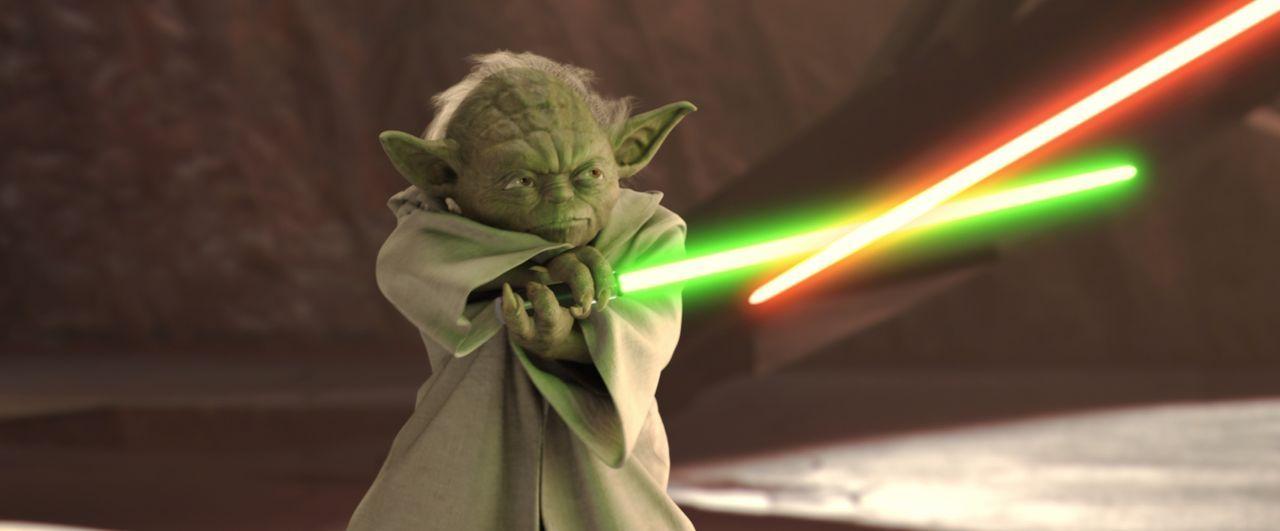 """""""Begonnen der Klonkrieg hat"""": der weise Jedi Yoda ... - Bildquelle: Lucasfilm Ltd. & TM. All Rights Reserved."""