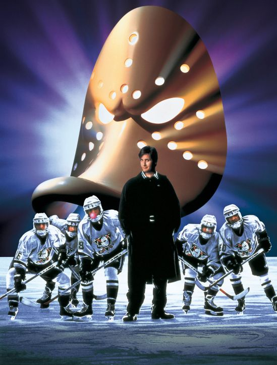"""MIGHTY DUCKS 3 - JETZT MISCHEN SIE DIE HIGHSCHOOL AUF"" - Artwork - Bildquelle: Disney.  All Rights Reserved."