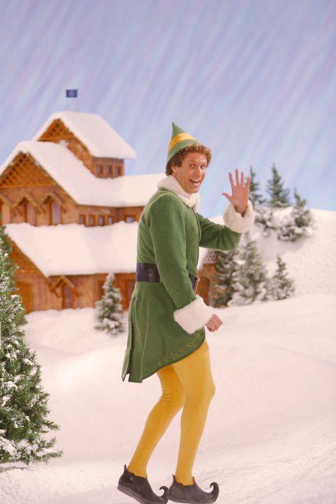 Buddy (Will Ferrell), der Weihnachtself, ist gekommen, um die Welt zu retten ... - Bildquelle: Warner Bros. Television