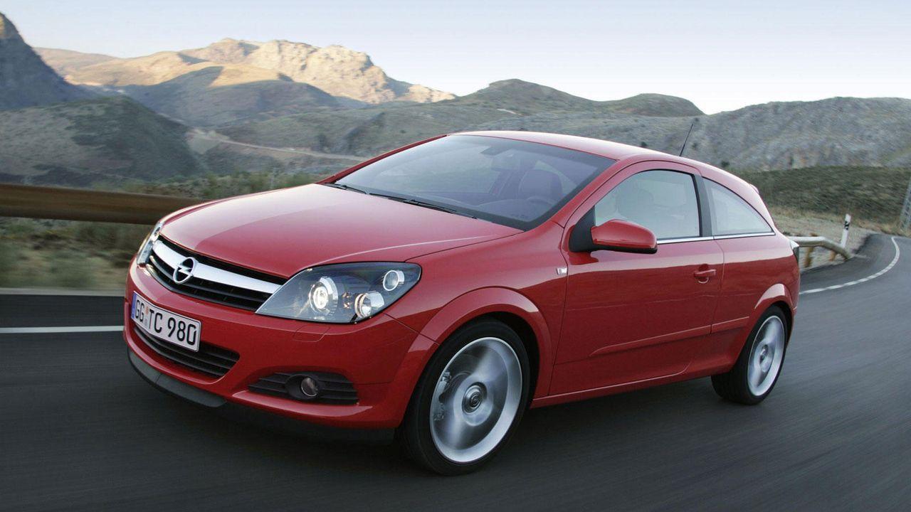 Astra H GTC - Bildquelle: Opel