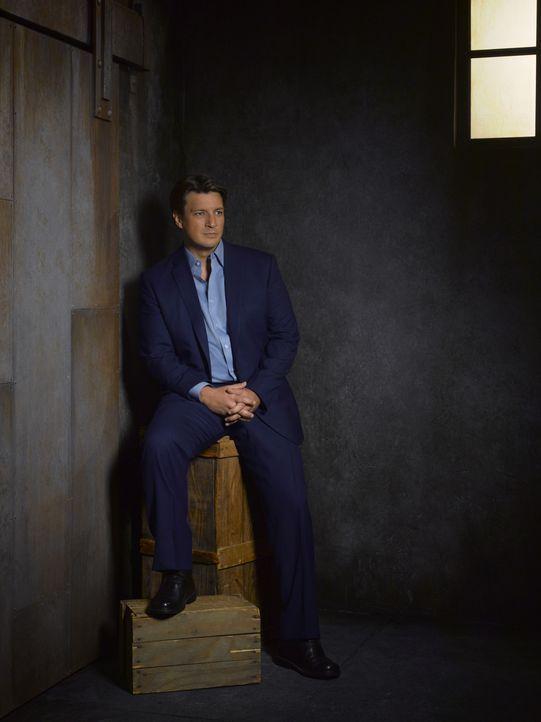 (5. Staffel) - Richard Castle (Nathan Fillion) will auch weiterhin Kate Beckett zur Seite stehen. Auch privat? - Bildquelle: ABC Studios
