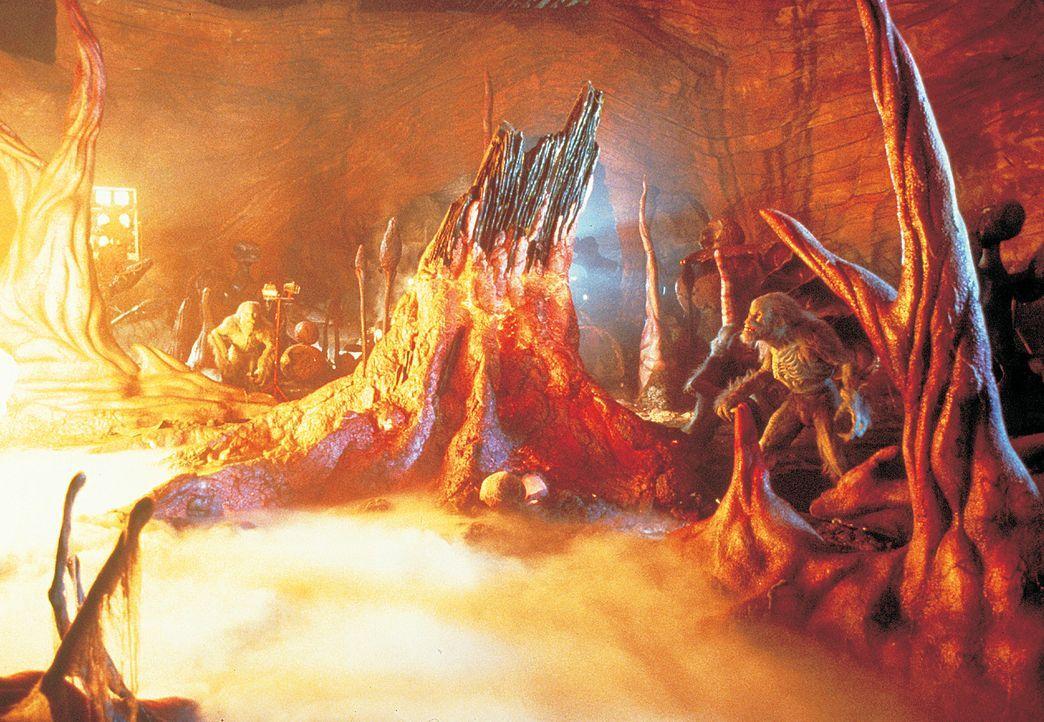 In der Einöde von Arizonas Wüste schlägt ohne Vorwarnung ein riesiger Meteorit ein. Dieser bringt eine außerirdische Lebensform auf die Erde, di... - Bildquelle: 2003 Sony Pictures Television International