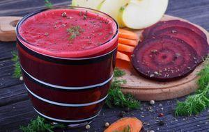 Gemüsesmoothie mit Rote Beete und Karotte