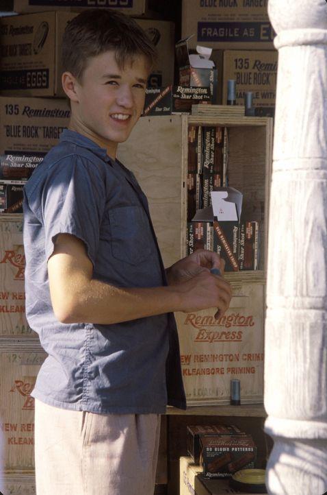 Der schüchterne Walter (Haley Joel Osment), würde alles darum geben, die Sommerferien nicht auf der Farm seiner beiden Großonkel verbringen zu m - Bildquelle: New Line Cinema