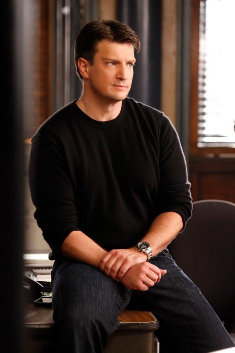 Macht sich Sorgen um seine Kollegin Kate Beckett: Richard Castle (Nathan Fillion) - Bildquelle: ABC Studios
