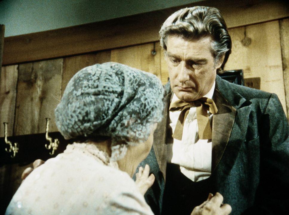 Granville Whipple (Richard Mulligan, r.) muss seiner Mutter (Queenie Smith, l.) gestehen, dass er durch eine Kriegsverletzung morphiumsüchtig gewor... - Bildquelle: Worldvision