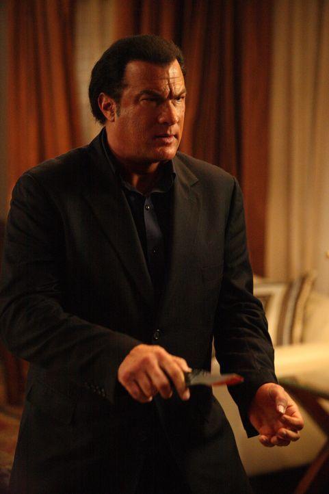 Fackelt nicht lange rum: Detective Jacob King (Steven Seagal) ... - Bildquelle: Nu Image