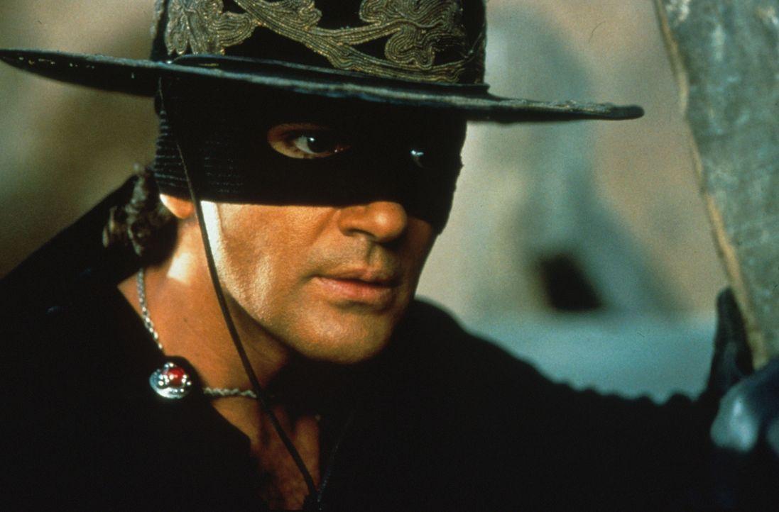 Der geheimnisvolle Rächer mit der schwarzen Maske: Zorro (Antonio Banderas) - Bildquelle: Columbia Pictures