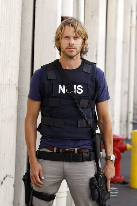 Ein neuer Mordfall beschäftigt Marty (Eric Christian Olsen) und seine Kollegen ... - Bildquelle: CBS Studios Inc. All Rights Reserved.
