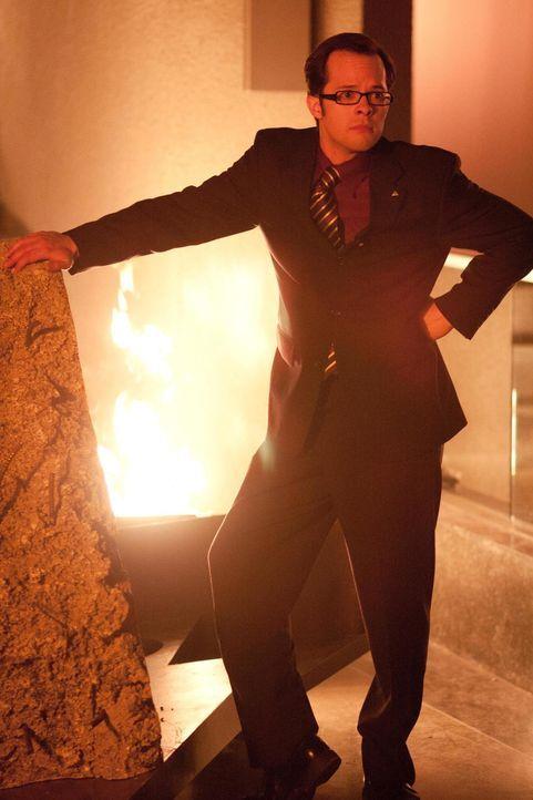 Fargo (Neil Grayston) ist entsetzt, was der Katastrophen-Test-Initiator mit General Dynamics anstellt ... - Bildquelle: Universal Television