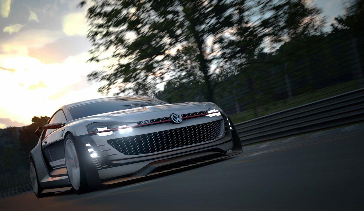 VW GTI Supersport Vision Gran Turismo (4) - Bildquelle: Verwendung fuer Pressezwecke honorarfrei