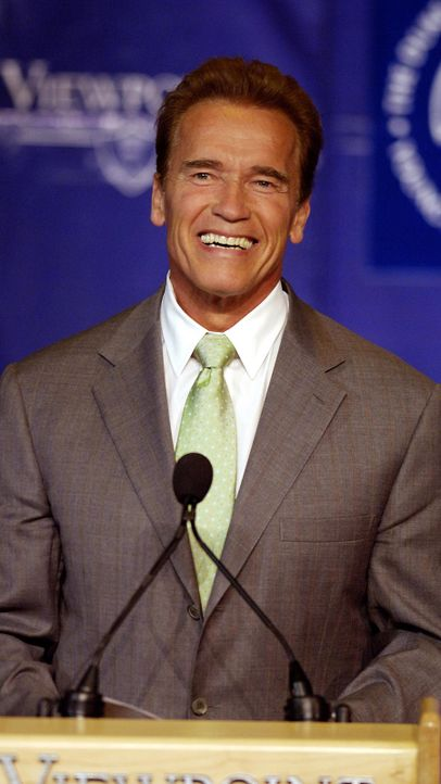 Arnold Schwarzenegger - Bildquelle: getty-AFP