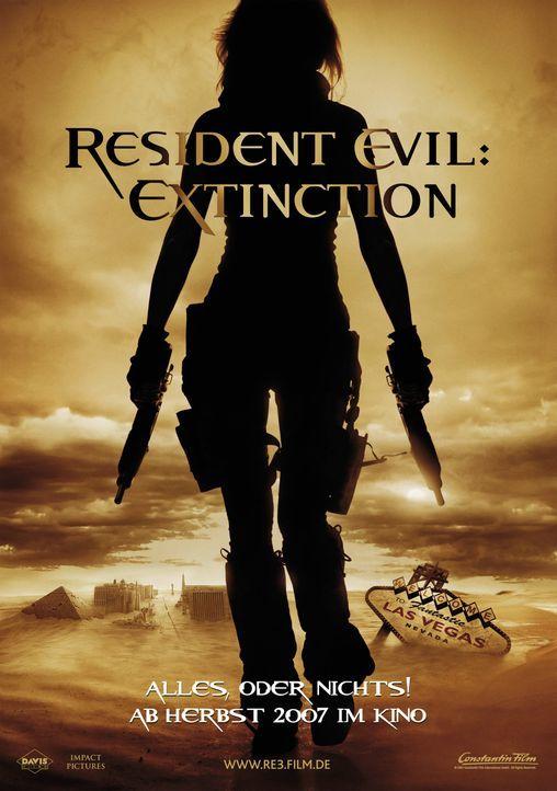 Resident Evil: Extinction - Plakatmotiv - Bildquelle: Constantin Film
