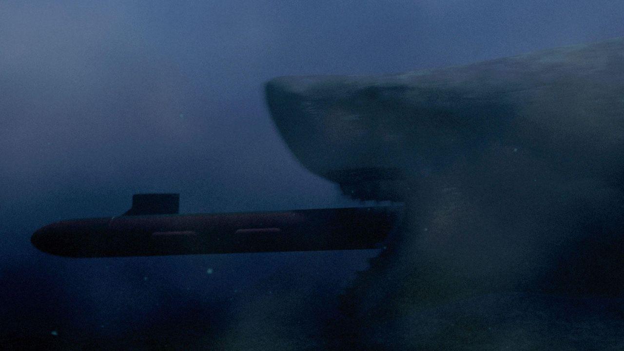 Megashark gegen Crocosaurus  - Bildquelle: Sunfilm // auf DVD und Blu-ray erhältlich