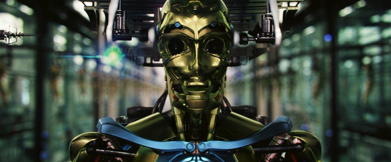 """Im Jahr 2057 hat sich die Welt gewandelt. Es gibt sogenannte """"Surrogates"""", makellose Roboterkopien von Menschen, die sich problemlos von zu Hause fe... - Bildquelle: Stephen Vaughan Touchstone Pictures.  All Rights Reserved"""
