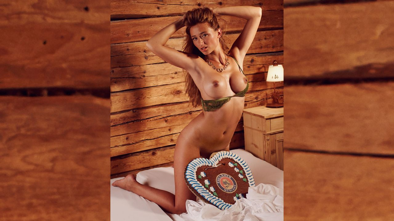 Jessica_Kuehne_Bett_1 - Bildquelle: Sacha Eyeland für Playboy Oktober 2015