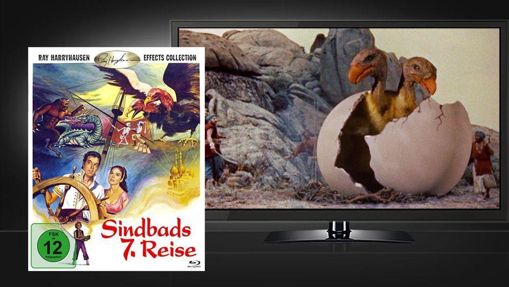 Sindbads 7. Reise (Blu-ray Disc) - Bildquelle: Koch Media