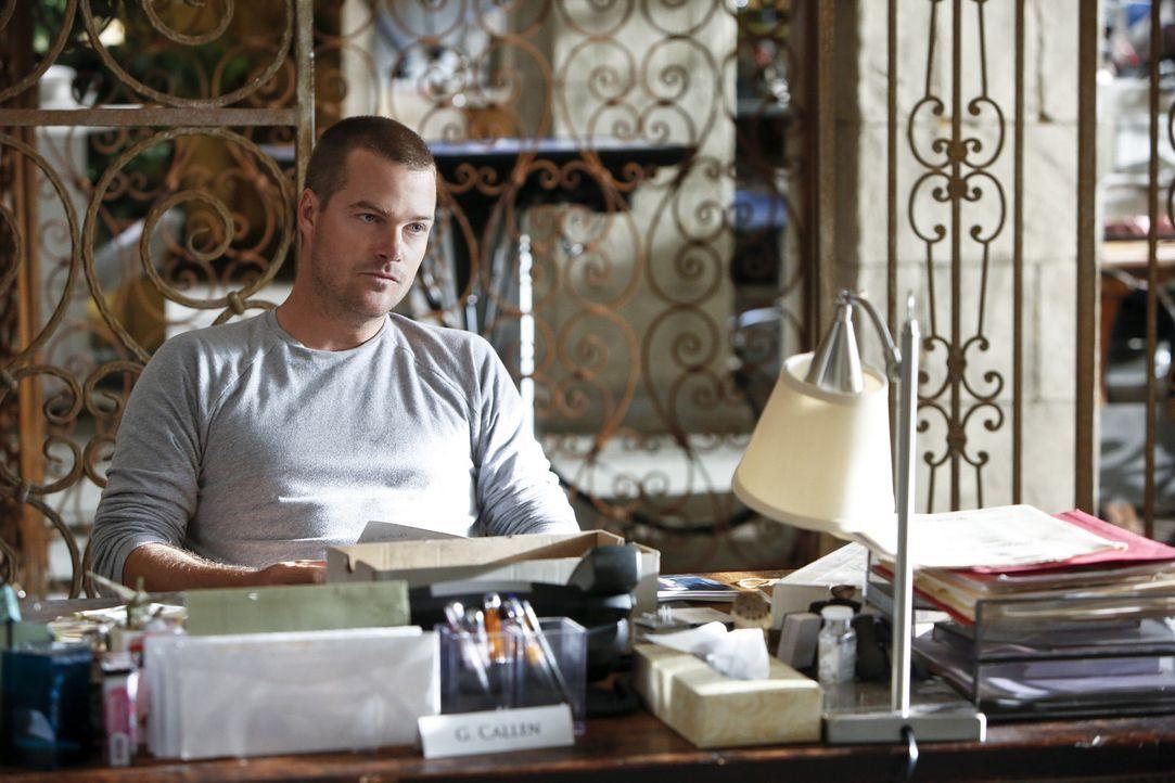 Bei den Ermittlungen in einem neuen Fall wird Callen (Chris O'Donnell) mit seinem Vater konfrontiert ... - Bildquelle: CBS Studios Inc. All Rights Reserved.