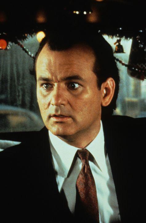 Der erfolgsbesessene und zynische Fernsehboss Frank Cross (Bill Murray) will aus dem zarten Weihnachtsmärchen von Charles Dickens ein blutrünstige... - Bildquelle: Paramount Pictures