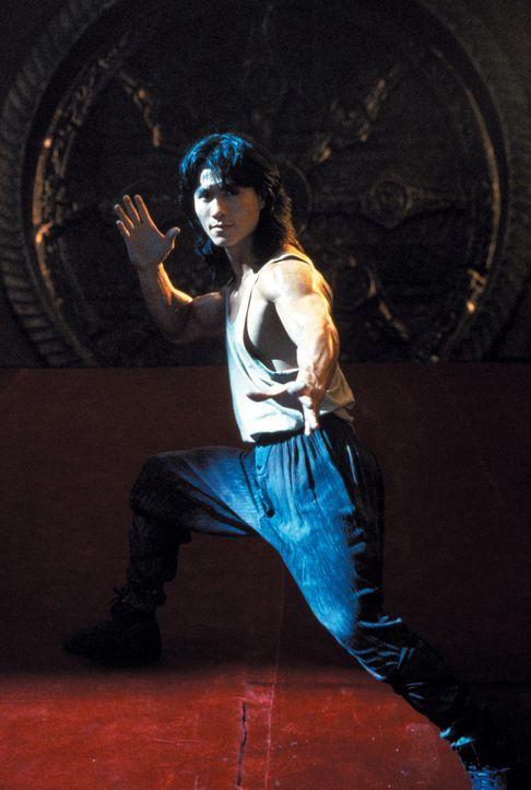 Liu Kang (Robin Shou) stellt sich der Herausforderung: Er nimmt den Kampf gegen die finsteren Krieger an ...