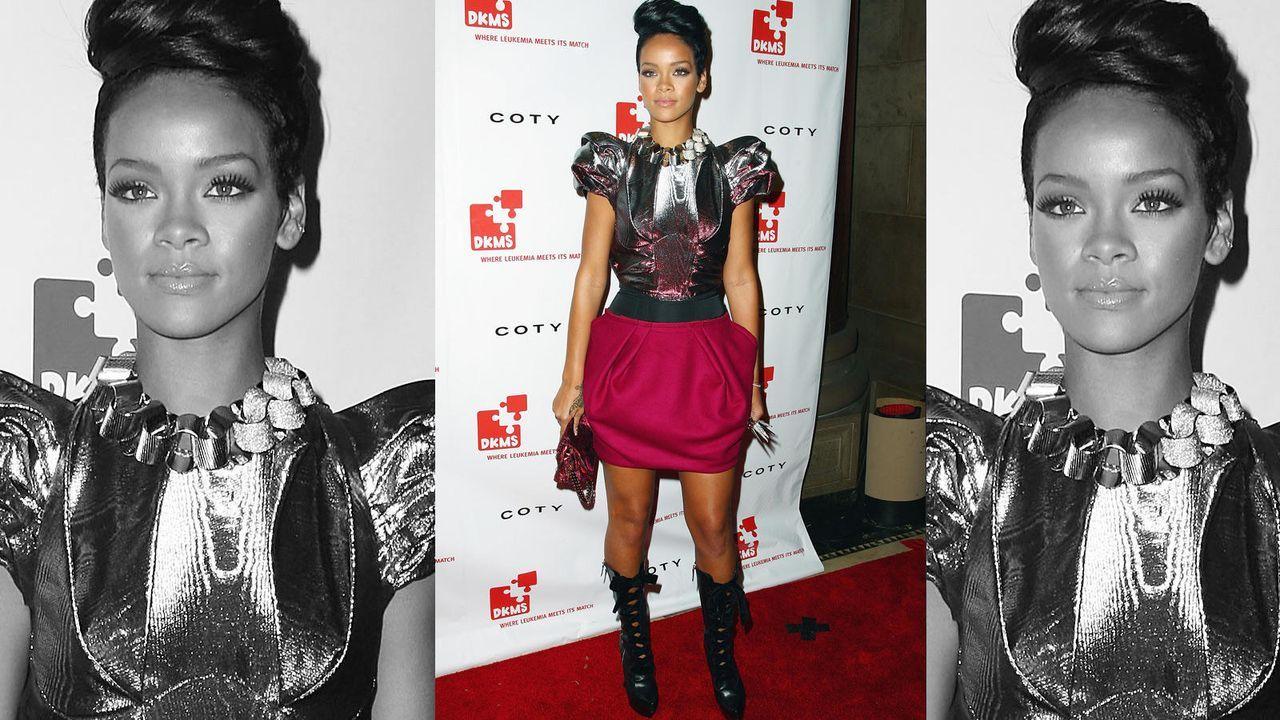 Rihanna im Grusel-Look