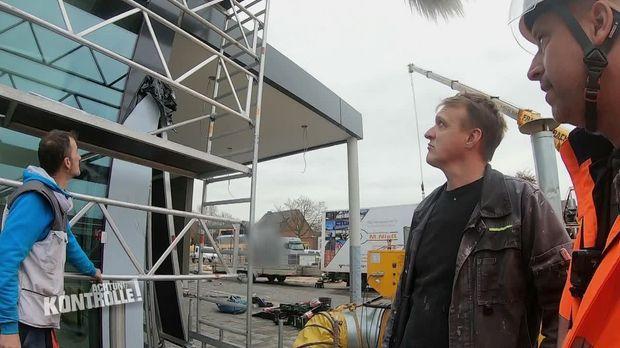 Achtung Kontrolle - Achtung Kontrolle! - Thema U.a.: Mann In Lebensgefahr - Ungesicherte Baustellenarbeit In Fünf Meter Höhe