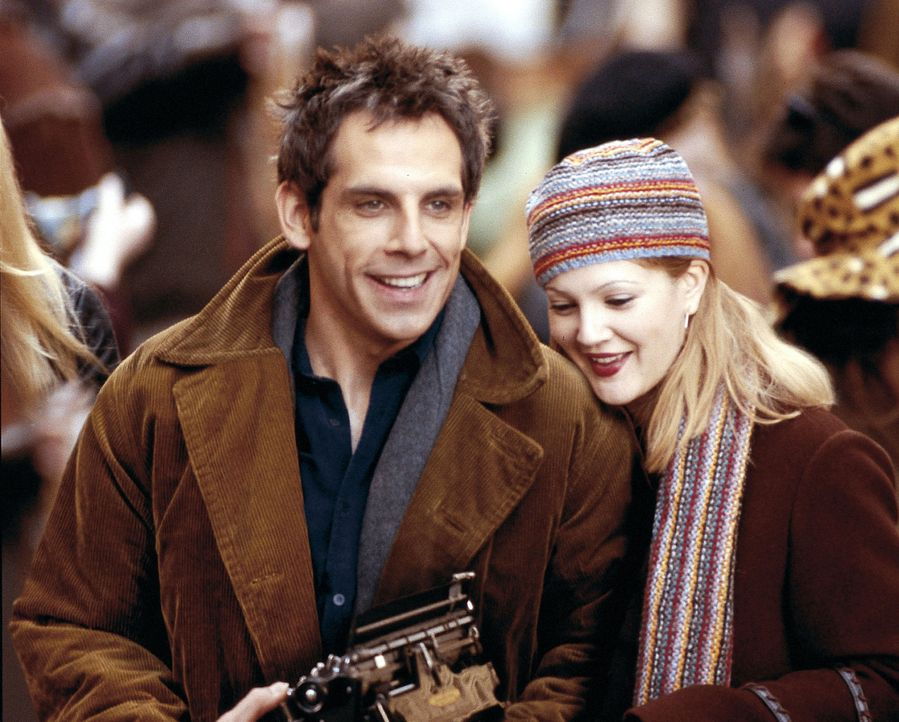 Als das frisch verheiratete, erfolgreiche Paar Alex (Ben Stiller, l.) und Nancy (Drew Barrymore, r.) in Brooklyn das perfekte Haus finden, scheint i... - Bildquelle: Michaels Darren Miramax Films.  All Rights Reserved.
