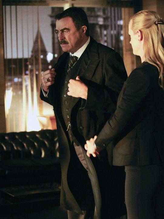 Ein Geständnis von Garret sorgt dafür, dass sich Frank (Tom Selleck) um Probleme kümmern muss, die weitaus intimer sind, als die, mit denen er sonst... - Bildquelle: Jeffrey Neira 2012 CBS Broadcasting Inc. All Rights Reserved.