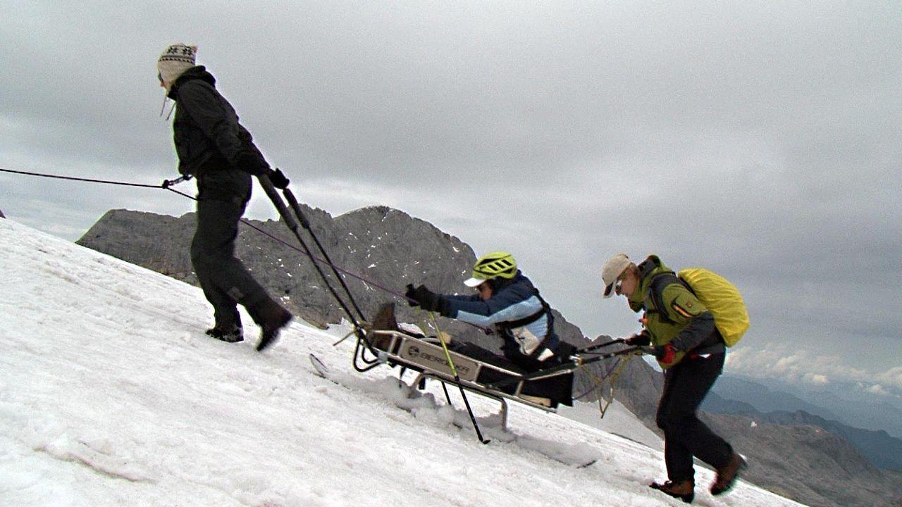 Mit Challenge auf den Gletscher - Bildquelle: kabel eins