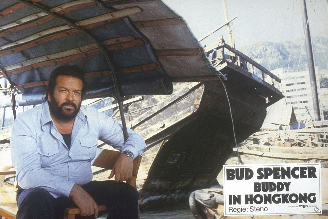 Auf der Jagd nach Rauschgifthändlern verschlägt es Kommissar Rizzo (Bud Spencer) nach Hongkong ... - Bildquelle: Constantin Film
