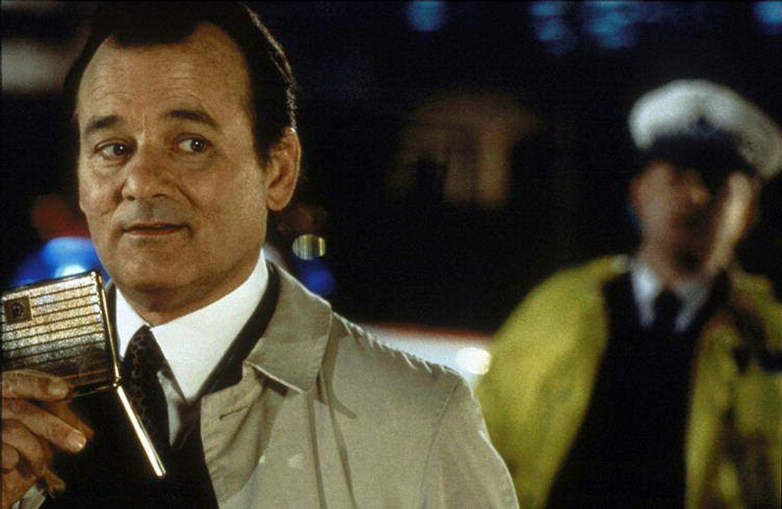 Der naive Wally Ritchie (Bill Murray) glaubt, das Mitglied eines experimentellen Theaterensembles zu sein, das im nächtlichen London ein Live-Stüc... - Bildquelle: Warner Bros.