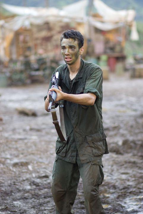 So hat er sich seine erste Rolle an der Seite von Superstar Tugg nicht vorgestellt: Kevin (Jay Baruchel) ... - Bildquelle: 2008 DreamWorks LLC. All Rights Reserved.