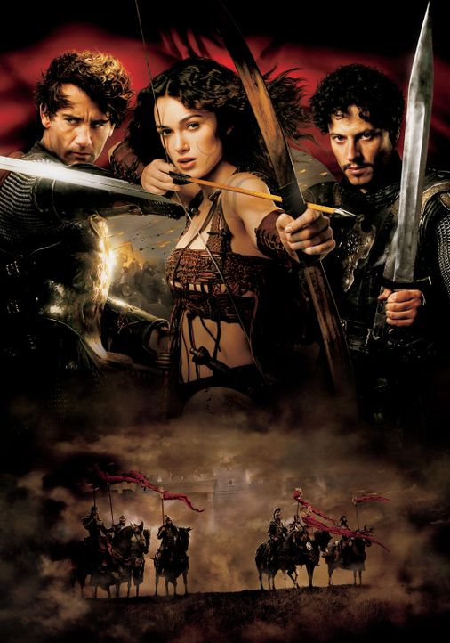King Arthur - Artwork -  mit (v.l.n.r.) Clive Owen, Keira Knightley und Ioan Gruffudd - Bildquelle: TOUCHSTONE PICTURES & JERRY BRUCKHEIMER FILMS, INC. ALL RIGHTS RESERVED.
