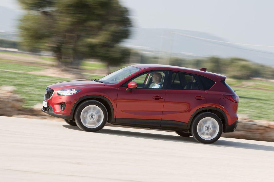 Er will VW Tiguan & Co. kräftig einheizen: der neue Mazda CX-5. - Bildquelle: kabel eins