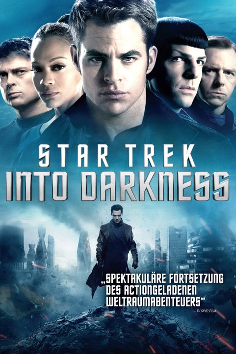 STAR TREK INTO DARKNESS - Plakatmotiv - Bildquelle: Zade Rosenthal 2013 Paramount Pictures.  All Rights Reserved. / Zade Rosenthal