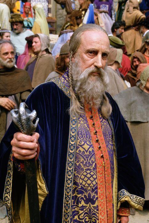Anfangs hat der Zauberer Merlin (Ian Richardson) große Probleme mit den Vorhersagen und magischen Fähigkeiten der neuen Bewohnerin, doch dann komm... - Bildquelle: Disney