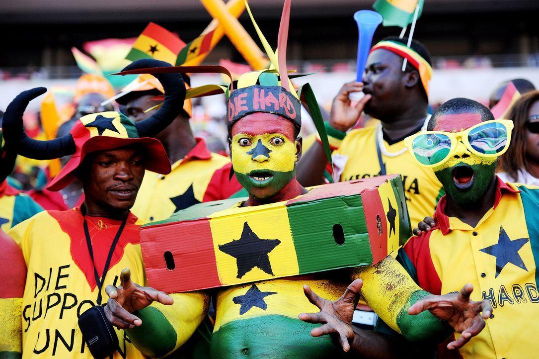 Fussball-Fans-Ghana-130124-AFP - Bildquelle: AFP