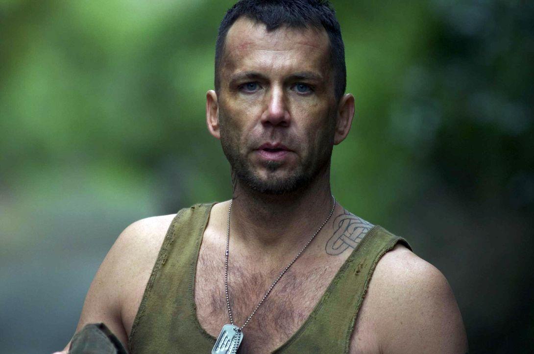 Vernichtet jeden, der sich ihm in den Weg stellt: Söldner Armstrong (David Millbern) ... - Bildquelle: Regent Entertainment