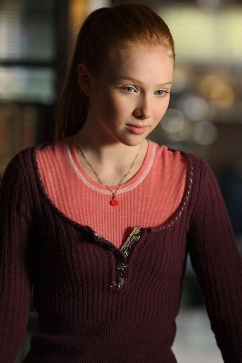 Unterhält sich mit ihrem Vater über einen neuen Fall: Alexis (Molly C. Quinn) - Bildquelle: 2008 American Broadcasting Companies, Inc. All rights reserved