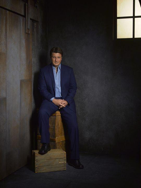 (5. Staffel) - Wenn Richard Castle (Nathan Fillion) sich etwas in den Kopf gesetzt hat, ist es sehr schwer ihn davon abzubringen ... - Bildquelle: ABC Studios