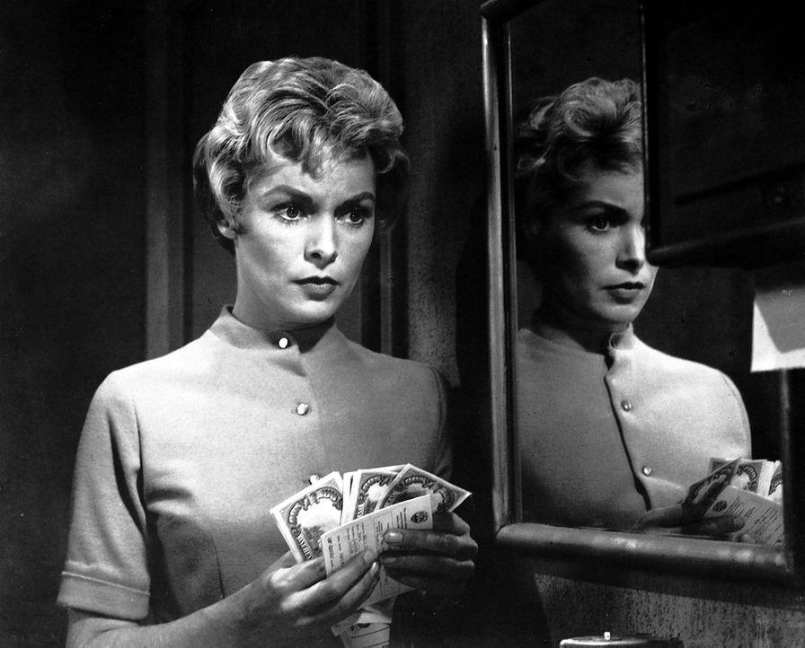 Marion Crane (Janet Leigh) ist gelangweilt von ihrem eintönigen Leben. Als ihr Chef sie bittet, 400.000 Dollar zur Bank zu bringen, winkt die einmal... - Bildquelle: 1960 Shamley Productions, Inc. Renewed 1988 by Universal City Studios, Inc. All Rights Reserved.