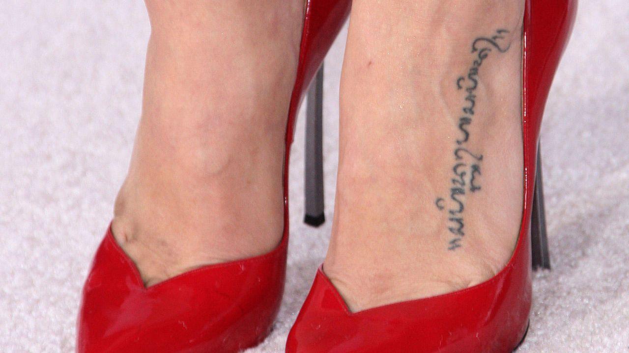 Sexy Tattoos - Bildquelle: Getty Images/AFP