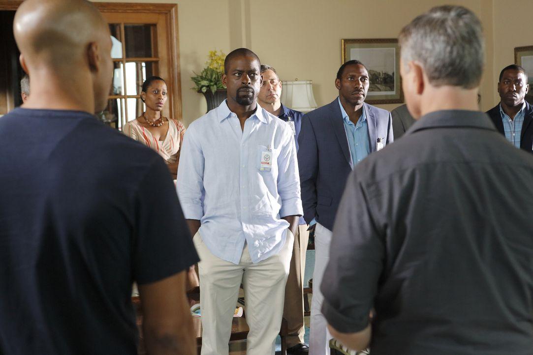 Kann Fitz (Sterling K. Brown) dem Team bei den Ermittlungen helfen? - Bildquelle: Trae Patton 2015 American Broadcasting Companies, Inc. All rights reserved. / Trae Patton
