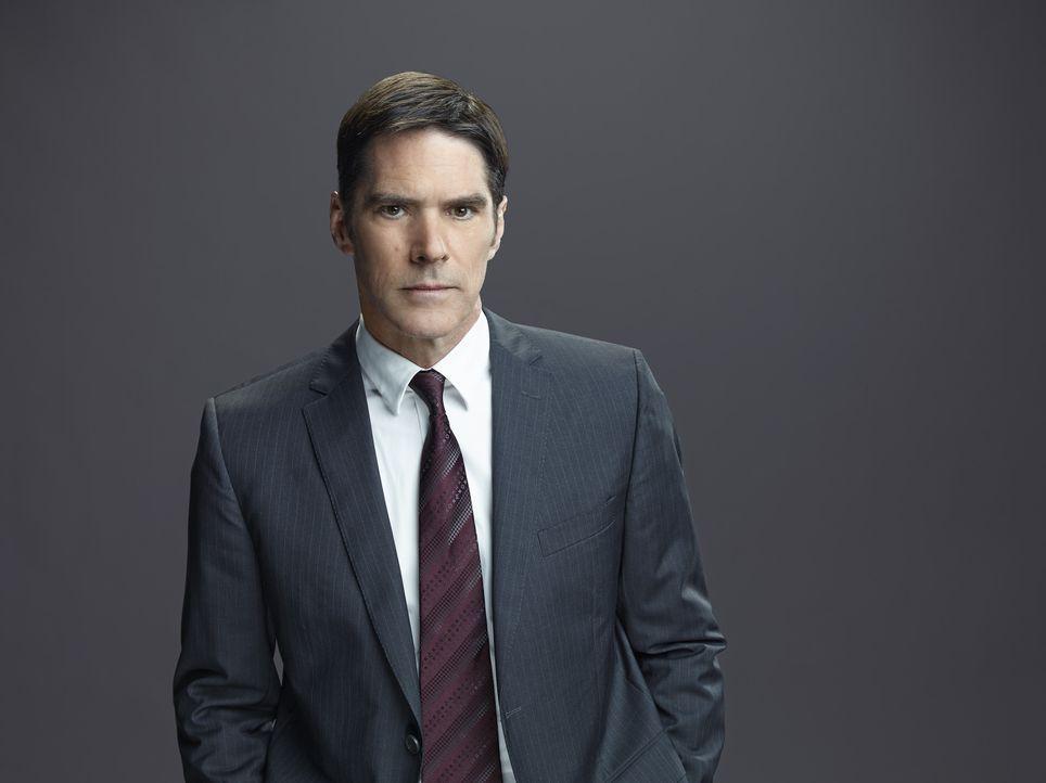 (10. Staffel) - Special Agent Aaron Hotchner (Thomas Gibson) bringt mit seinem Kollegen, jeden Serientäter zur Strecke ... - Bildquelle: Cliff Lipson ABC Studios / Cliff Lipson