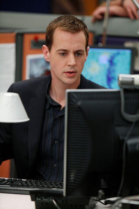 Einem Täter auf der Spur: McGee (Sean Murray) ... - Bildquelle: CBS Television