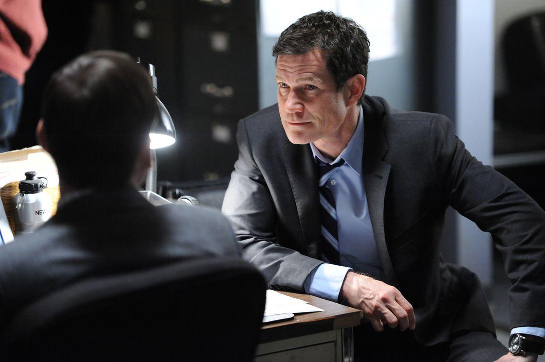 Werden Al (Dylan Walsh, r.) und Carrie einen Serienkiller stellen können? - Bildquelle: 2011 CBS Broadcasting Inc. All Rights Reserved.