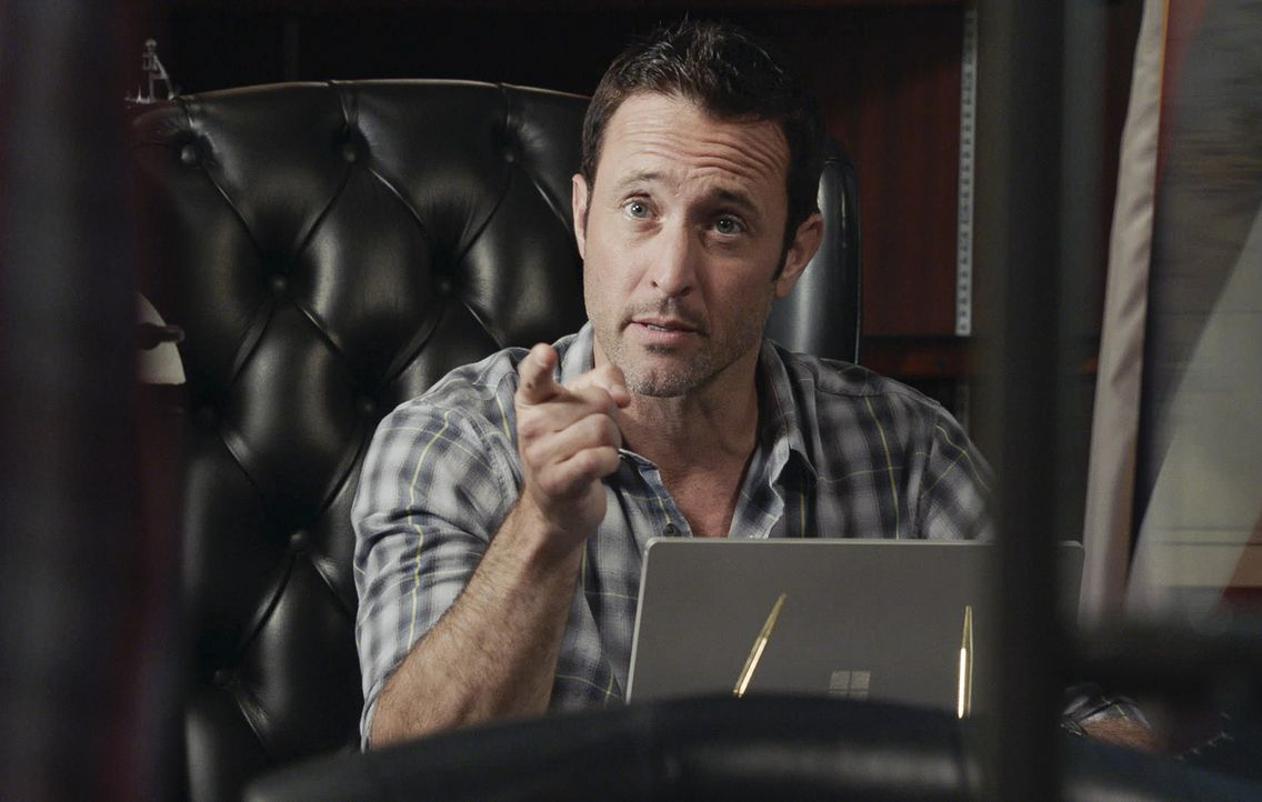 Steve McGarrett (Alex O'Loughlin) - Bildquelle: 2019 CBS Broadcasting, Inc. All Rights Reserved