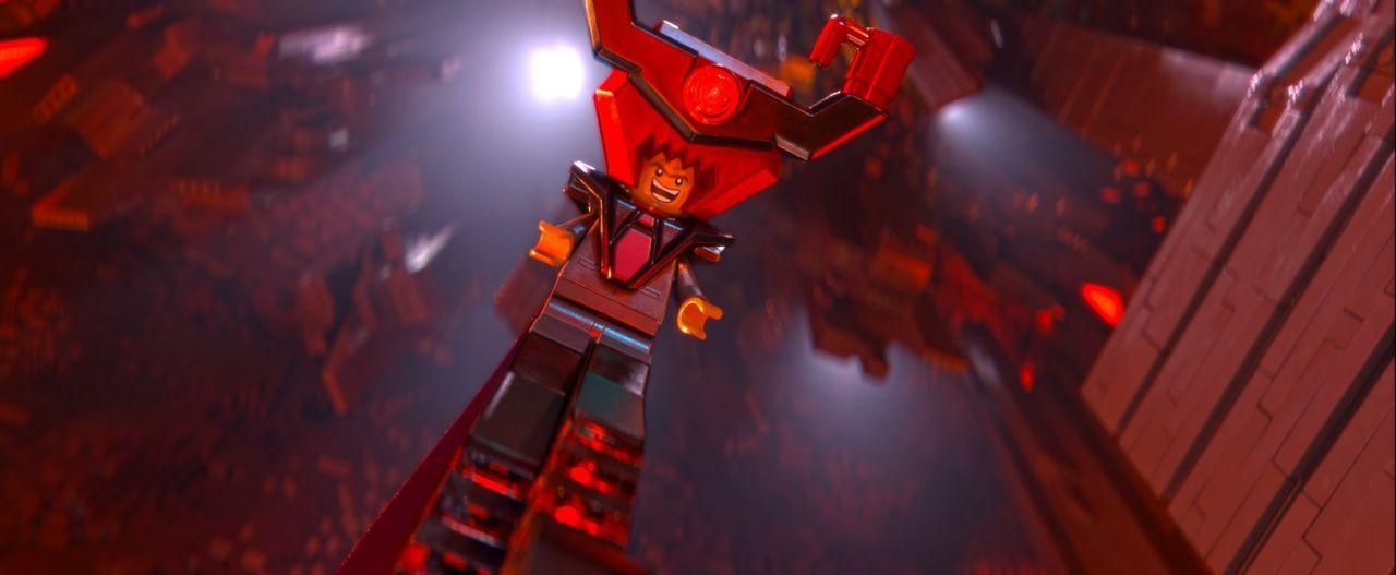 President Business alias Lord Business plant, die gesamte Welt zusammenzukleben, was für die Legofiguren das Aus bedeuten würde ... - Bildquelle: 2014 Warner Brothers